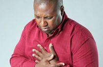 heart attack sufferer