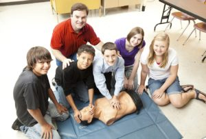 CPR in the young