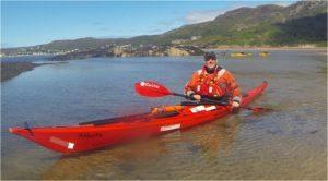 Cory sea kayaking Gairloch