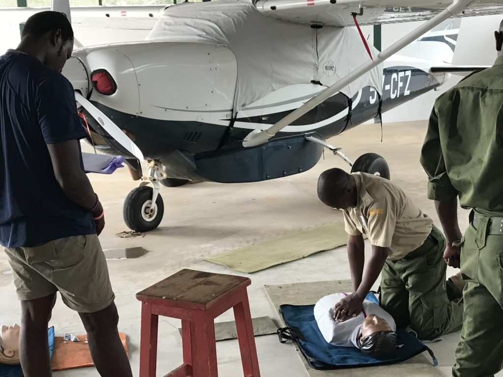 Kenyan First Aid training courses