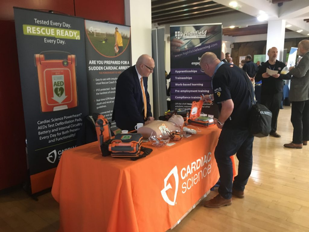 Cardiac Science at the First Aid Conference 2019