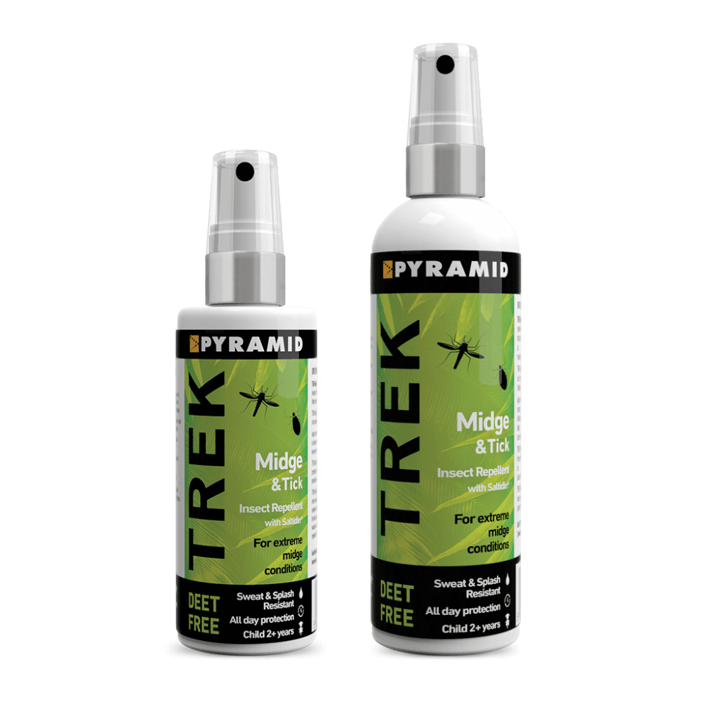 """<strong><a href=""""https://www.pyramidtravelshop.co.uk/trek-midge--tick-repellent-114-p.asp"""">Trek Midge & Tick Repellent</a></strong>"""