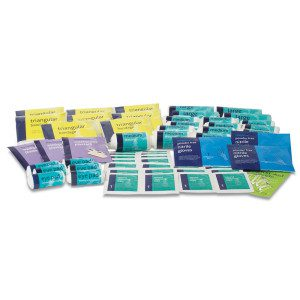 Refill for HSE 50 Person First Aid Kit