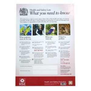 HSE H&S Poster