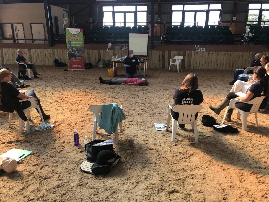 horse rider first aid