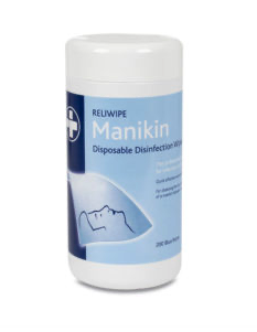 Tub of Manikin Wipes